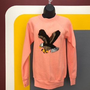Vtg. American Bald Eagle women's crewneck